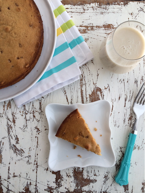 Almond Toffee Butterscotch Blondies Recipe | Sweet Tooth