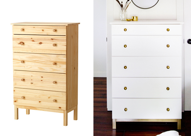 5 incredible makeovers ikea hack painted furniture diy 39 s Ikea furniture makeover