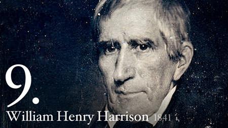 WILLIAM HENRY HARRISON 1841
