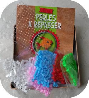 boite à jeux perles à repasser