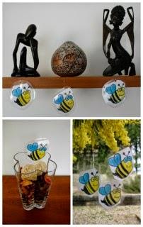 manualitat infantil abelles