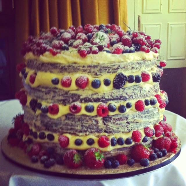 The Vegan Wedding Cake In Situ