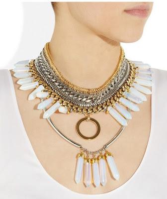 Asaad Mousner-Medicine Gold& Silver Necklace - iloveankara.blogspot.co.uk