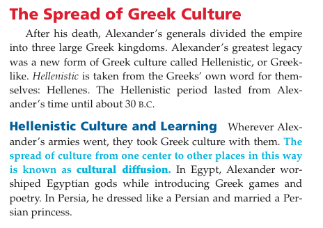 alexander the great legacy essay