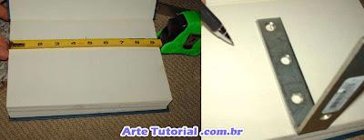 Como fazer prateleira de livros sem madeira