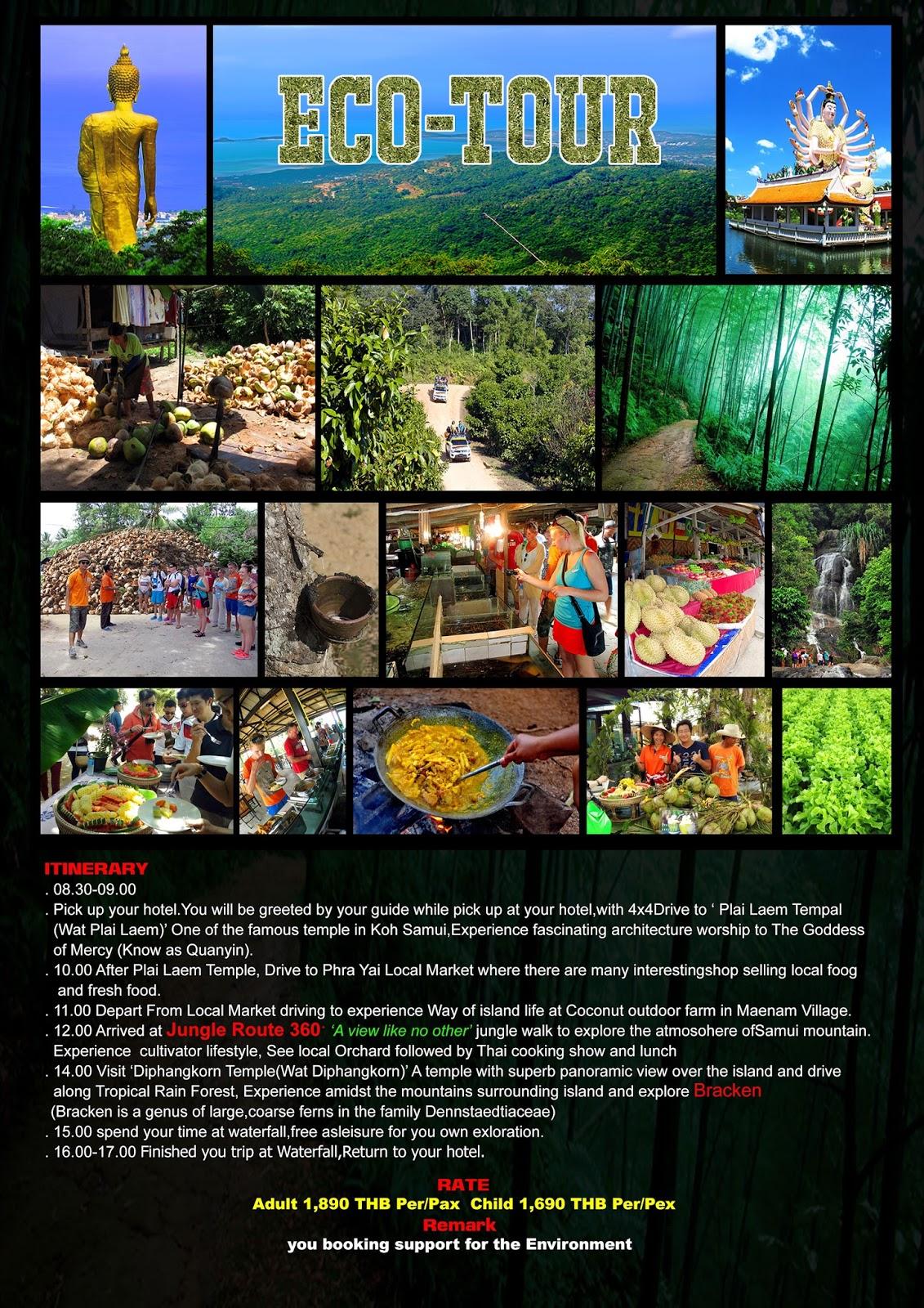 Vision Grand Safari Tour Koh Samui