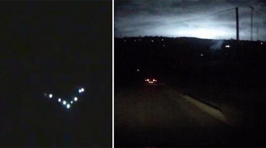 Rusia se está convirtiendo en un imán de OVNIs y inexplicables destellos de luz