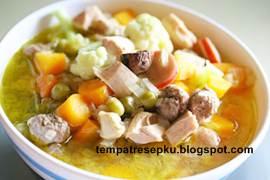 Resep tumis sayur sawi putih
