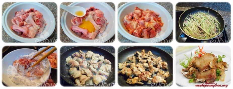 Cách làm thịt Vịt rang muối ngon mà đơn giản 2