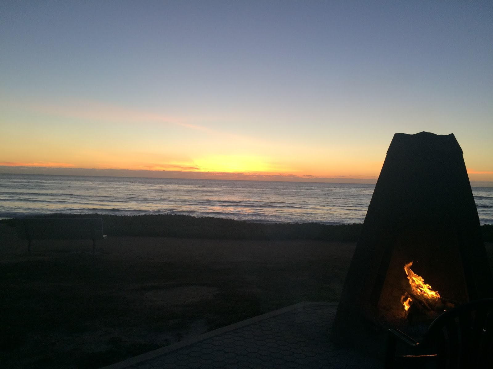 Monday Sunrise Blogging_21 >> Welcome To The Unknown This Rocky Place They Have Fire Pits Here