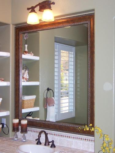 Fantastic Framed Bathroom Mirrors Designs Ideas Pictures To Pin On Pinterest