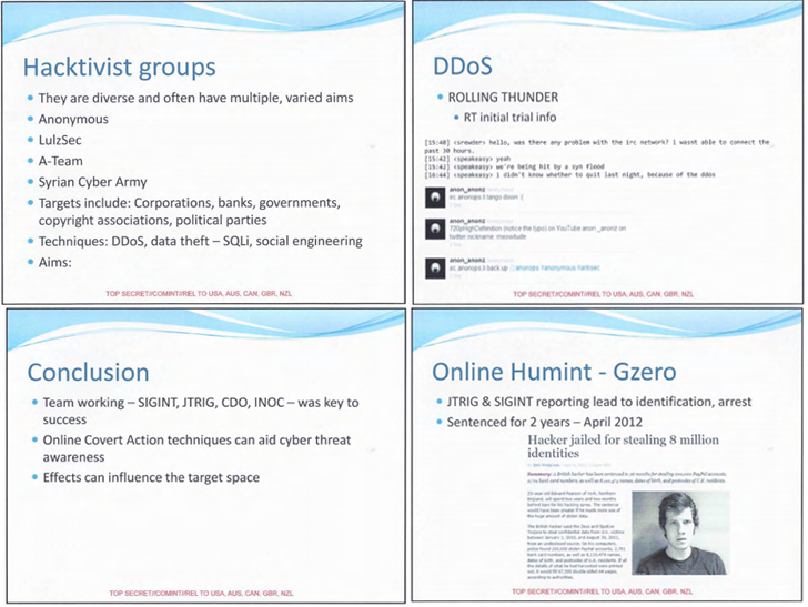 British Intelligence Agency DDoSed Anonymous Chatrooms to disrupt communication