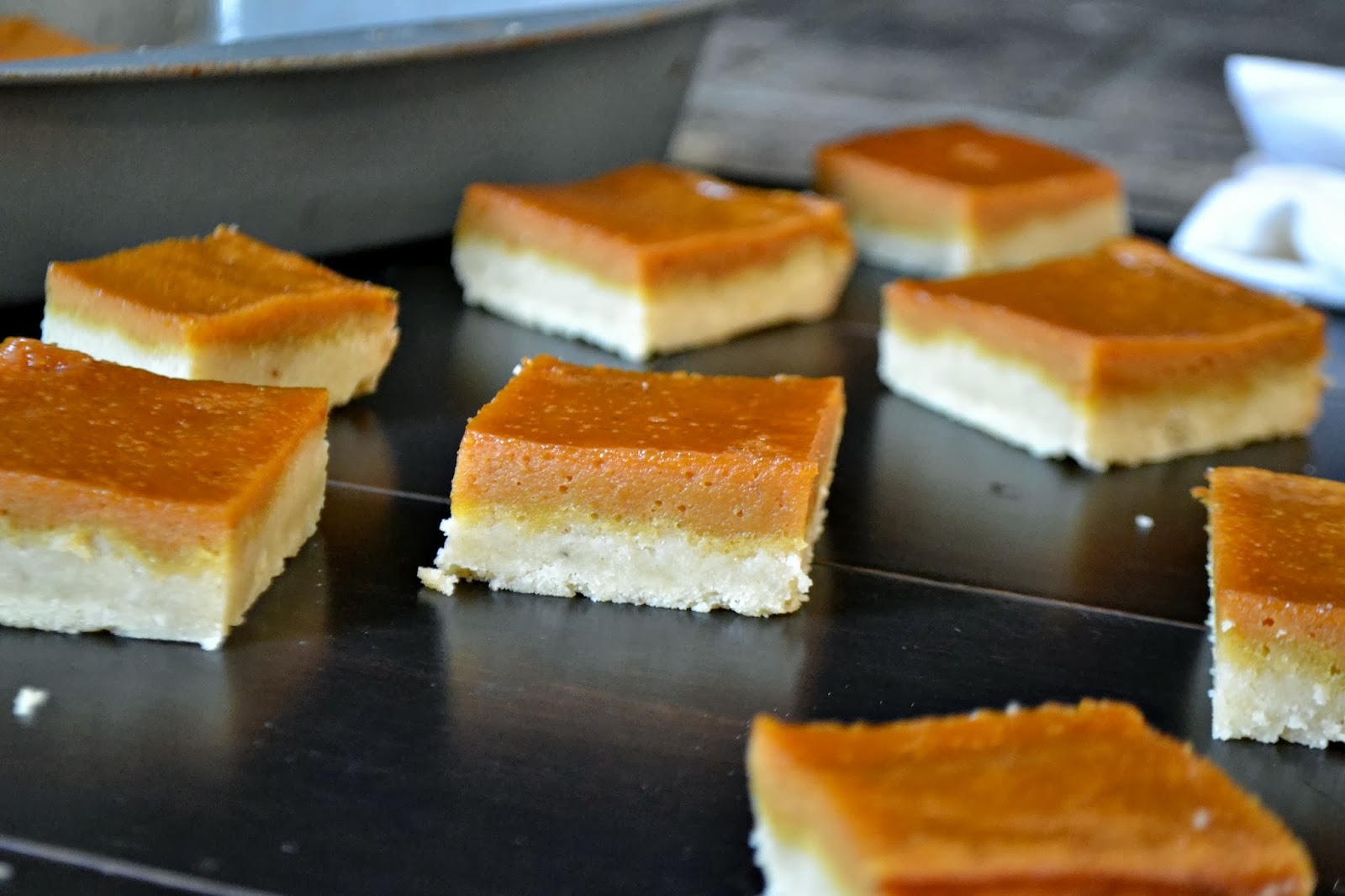 Pumpkin Bars with a Bacon Fat Shortbread Crust ...