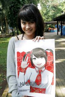 Foto Walpaper Nabilah Ayu Chin Jkt Galeri Kartun Terbaru
