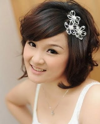 Wedding Hairstyles  2012 on Wedding Hairstyle 2012 Short Is Exclusive