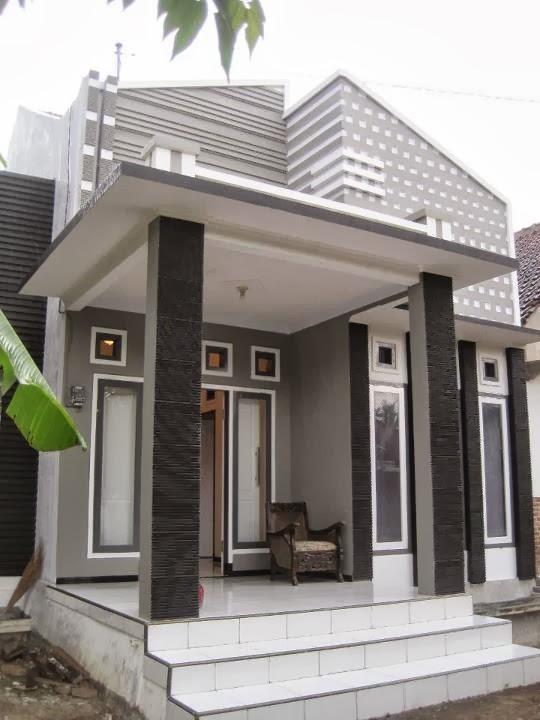 gambar bentuk teras rumah idaman minimalis terbaru 2014