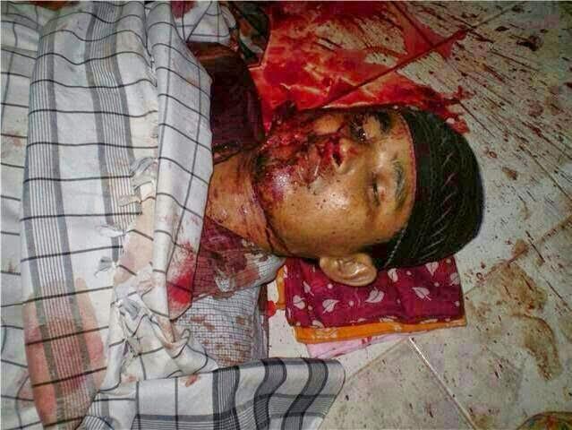Gambar Keganasan Askar Thailand, Jemaah Dibunuh Ketika Solat!