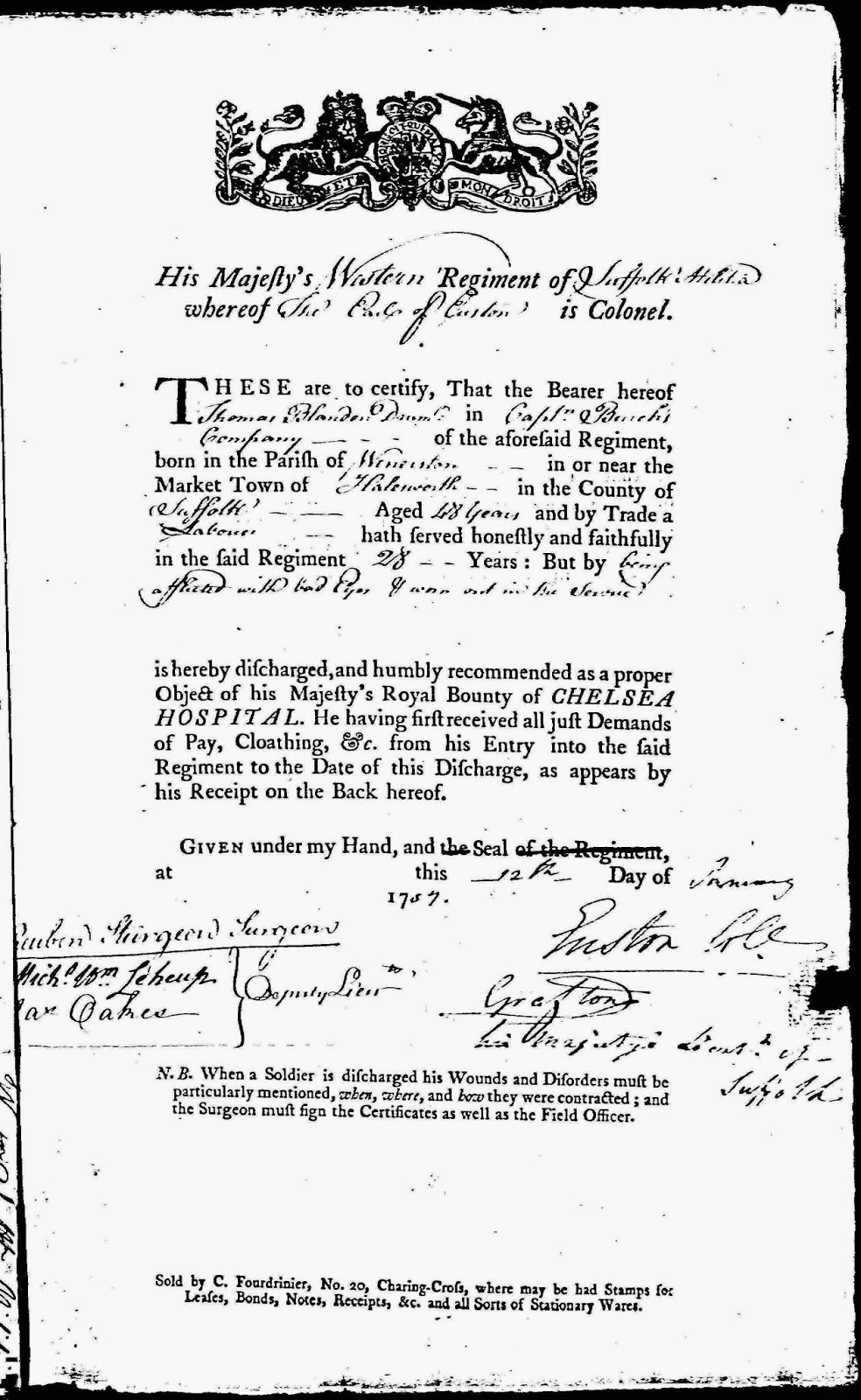 Olive Tree Genealogy Blog: 52 Ancestors: 5th Great Grandpa Ordered Out of His Parish with Wife and Family in 1778