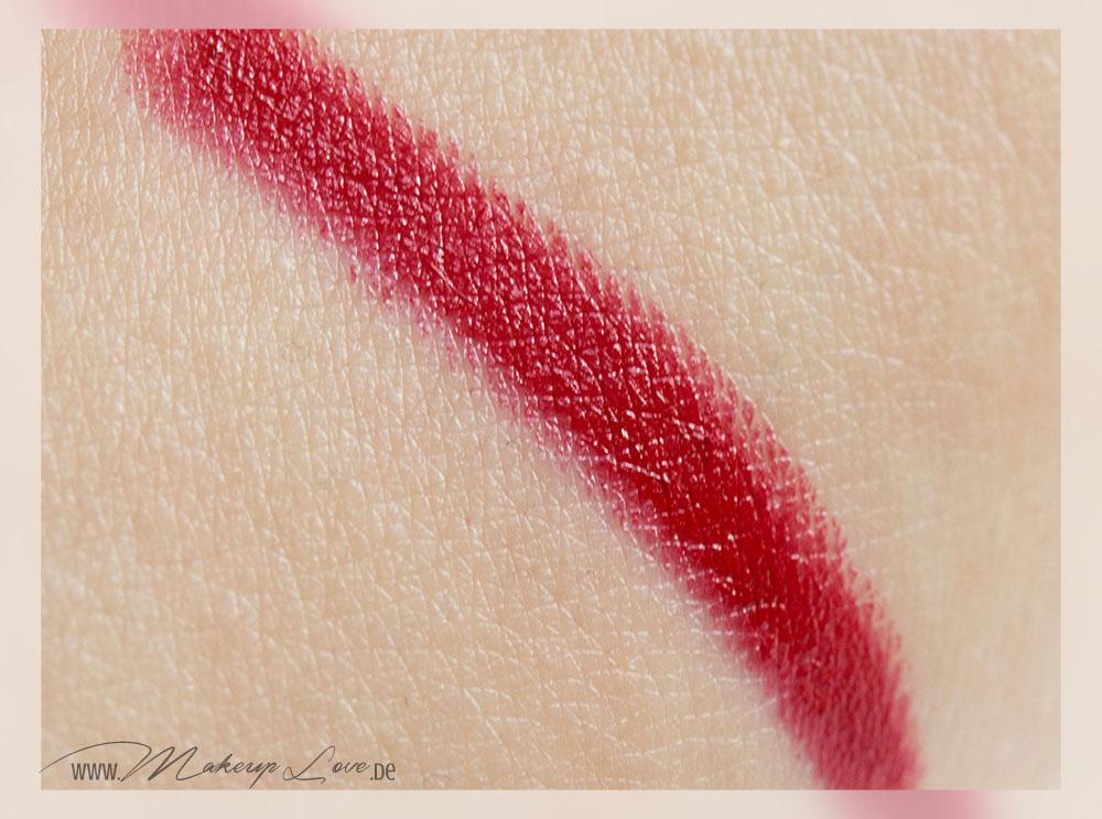 bite beauty high pigment lip pencil set holiday 2014 pomegranate swatch