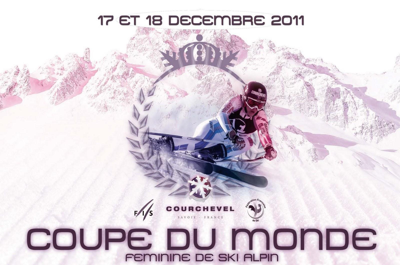 Actuskiracing l 39 actu du ski alpin courchevel g ant et slalom femmes 17 18 12 2011 - Coupe du monde de ski courchevel ...