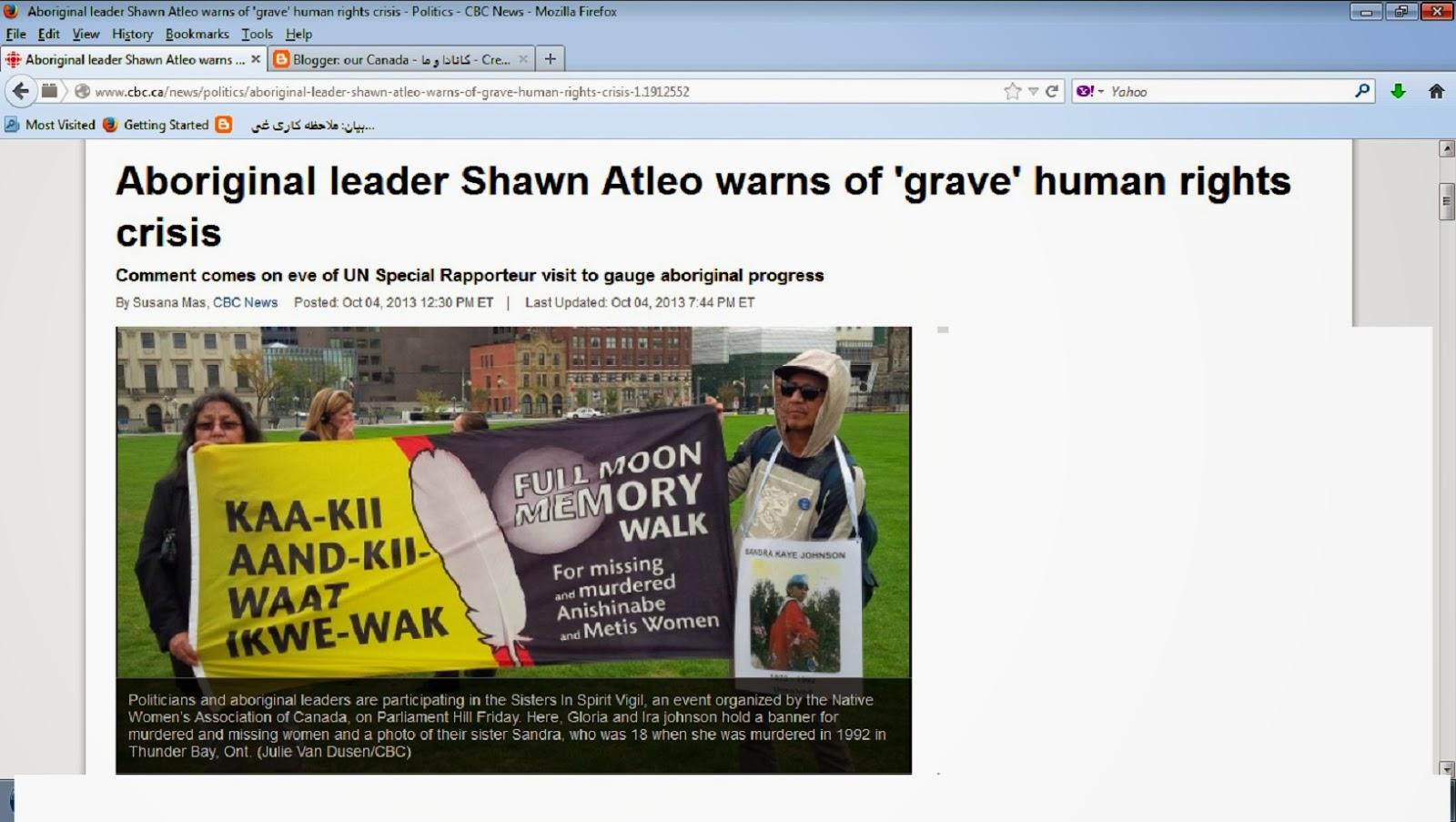 aboriginal human rights essay