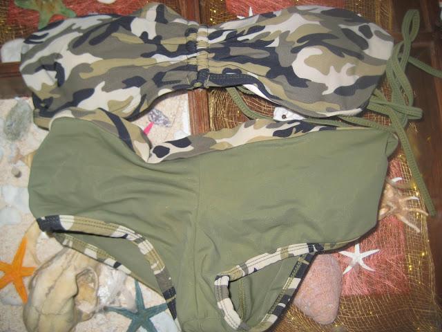 kt lifestyle camouflage bikini