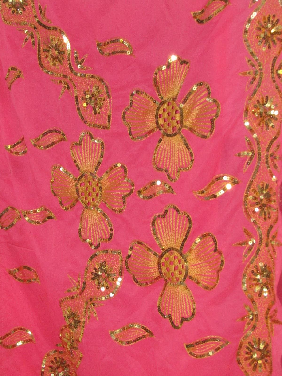 Indian Sari Fabric A gorgeous, indian sari fabric
