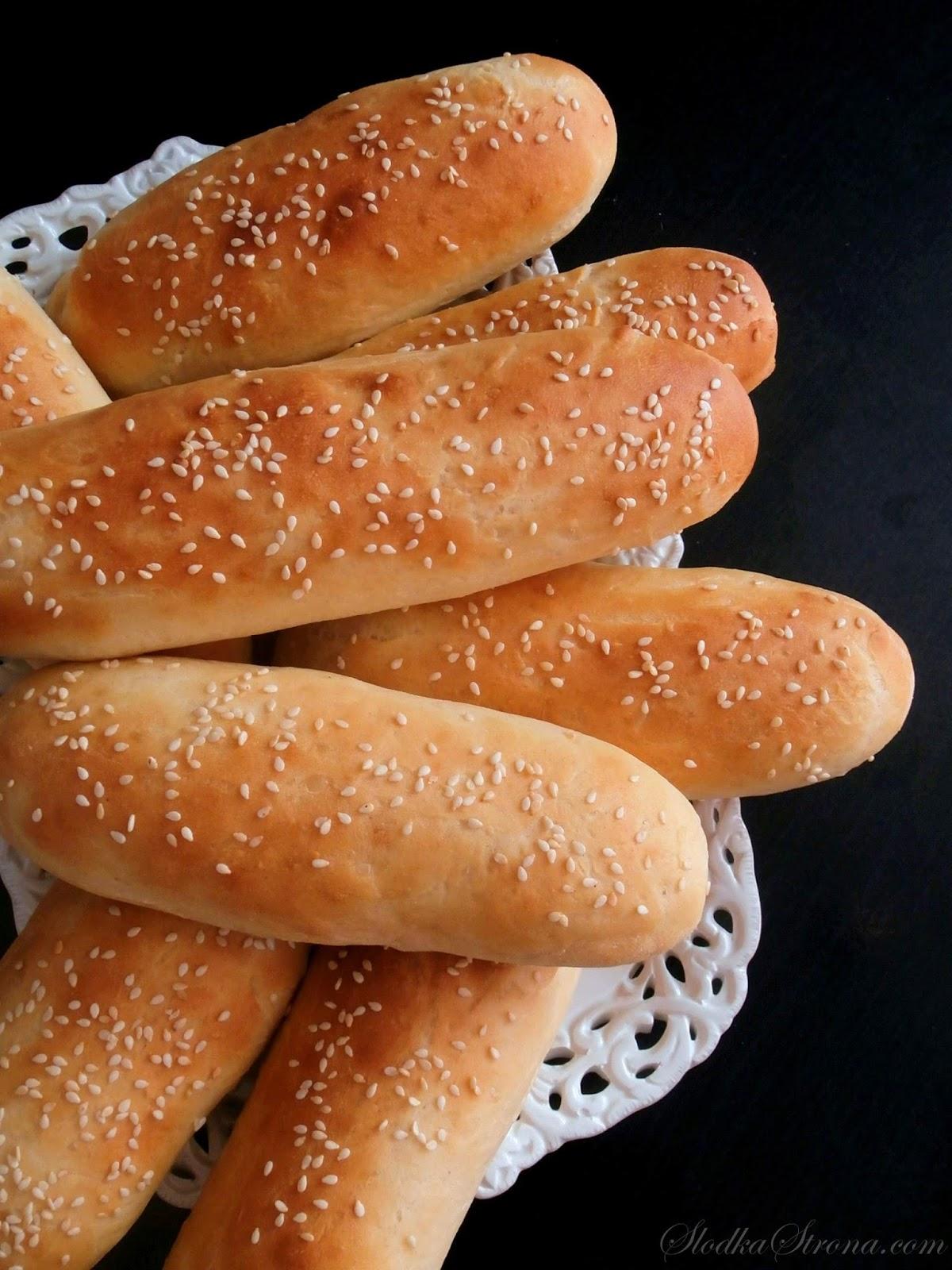 Domowe Bułki do Hot-Dogów - Przepis - Słodka Strona