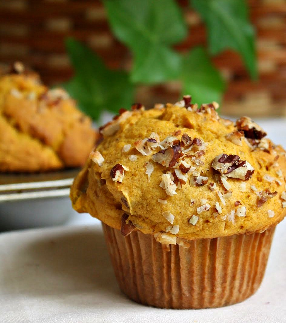 Jane's Sweets & Baking Journal: Fluffy Pumpkin Muffins ...