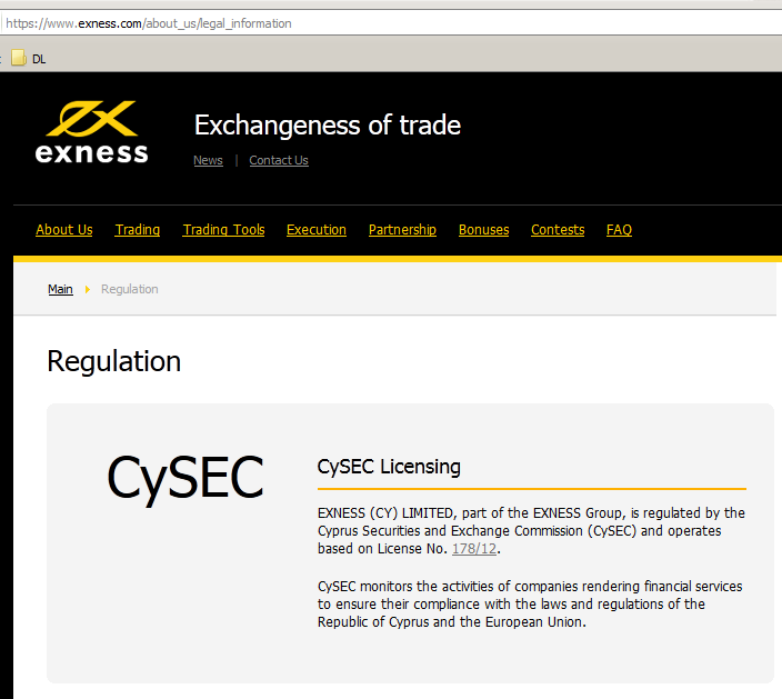 Cysec regulated forex trading company