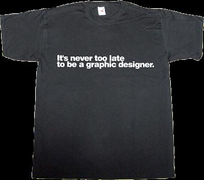 designer graphic design helvetica autobombing t-shirt ephemeral-t-shirts