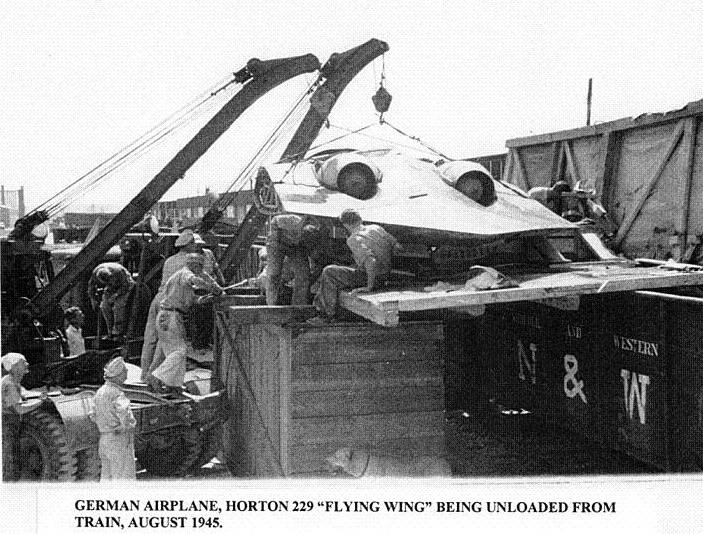 HortenHo229 unloading Germany Stealth Aircraft Technology In World War II