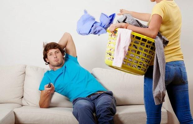 Teknik Atasi Suami Malas Di Rumah