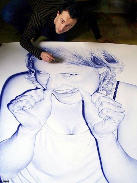 Amazing Ballpoint Art
