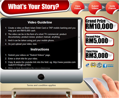Bank Islam 'What's Your Story?' Contest