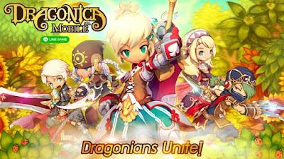 LINE Dragonica Mobile v1.2.3 Apk