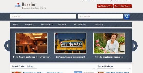 Buzzler Premium Listing Theme