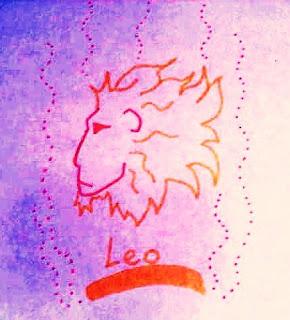 El fogoso signo de Leo