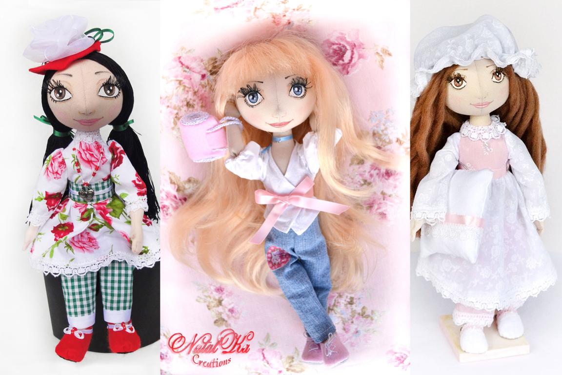 Stoffpuppe, cloth dolls, rag dolls, fabric dolls, текстильные куклы, тряпичные куклы