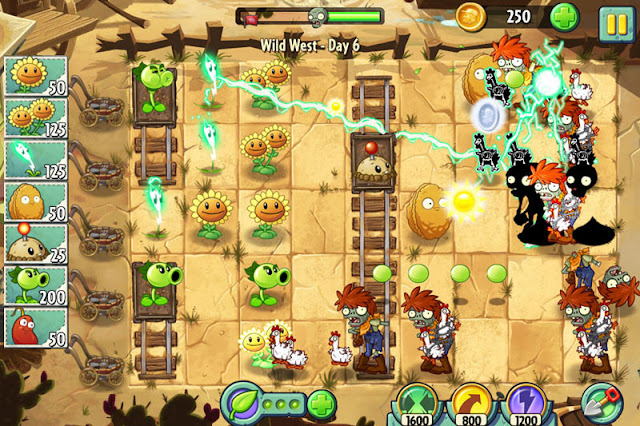 Plants vs Zombies 2 v3.7.1 Apk + Datos SD Mod [Compras Gratis]