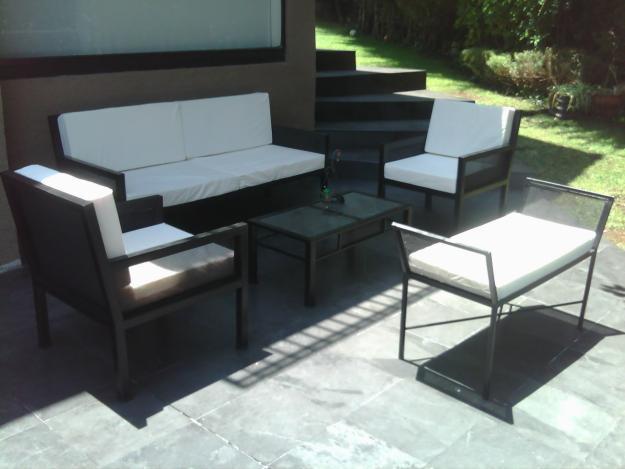 Decorando dormitorios muebles de fierro para terraza for Muebles terraza fierro