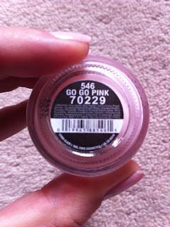 China Glaze Go Go Pink nail polish