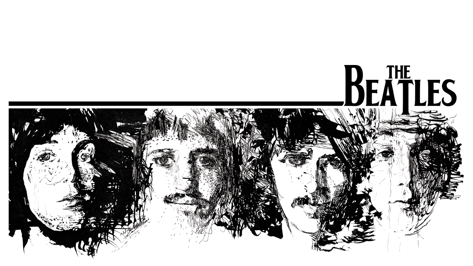 The Beatles Wallpaper 19