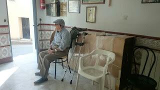 Tomás Roncero, jubilado, vecino de Las Mestas