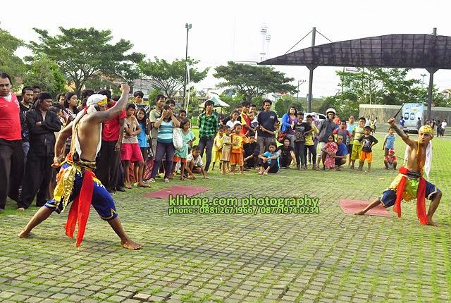 Kisah Sindoro Sumbing dalam Tari di Taman Kota Andang Pangrenan