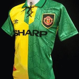 Jual jersey retro manchester united klasik tahun 1992