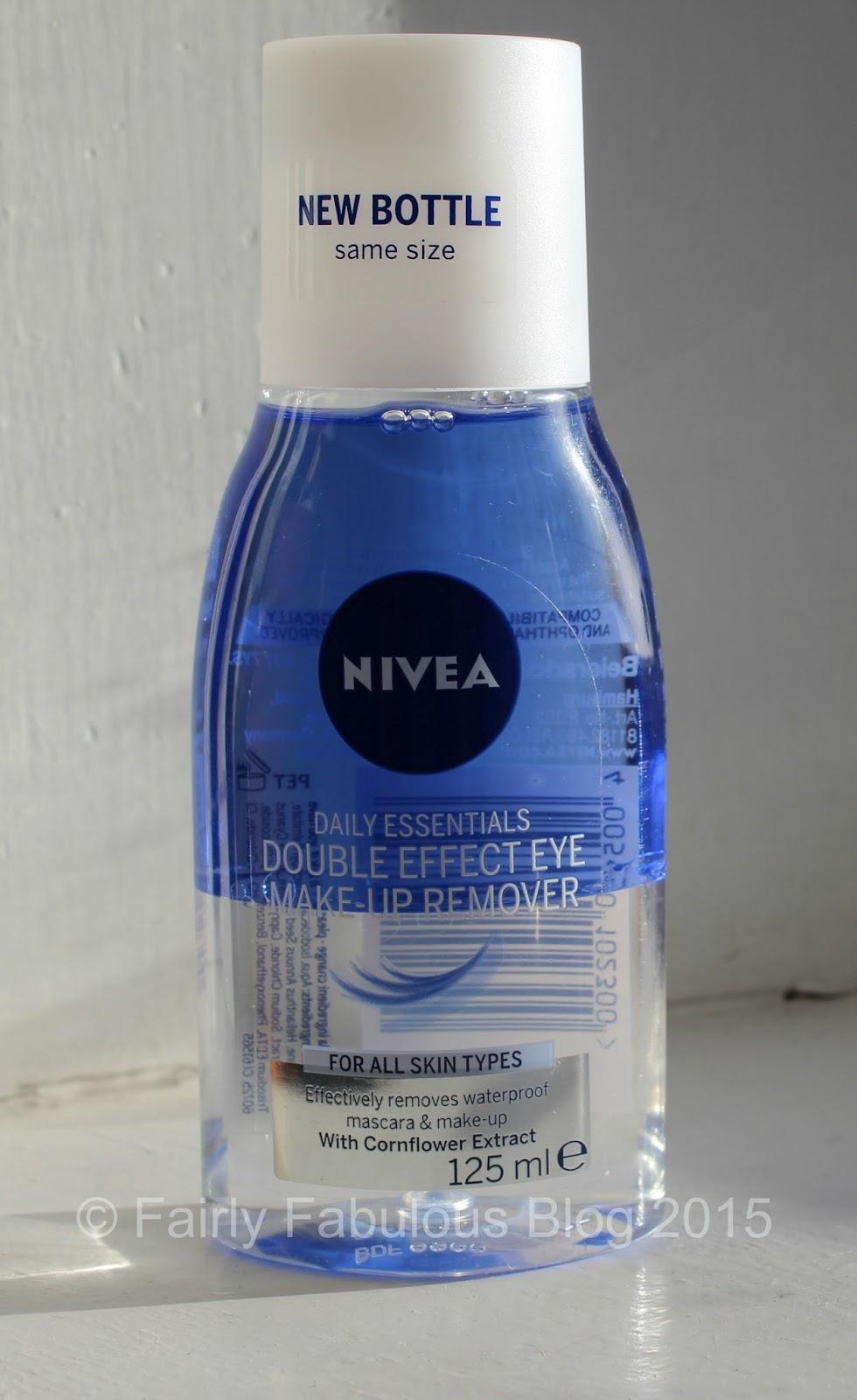 Nivea Eye Make Up Remover Review Fairly Fabulous