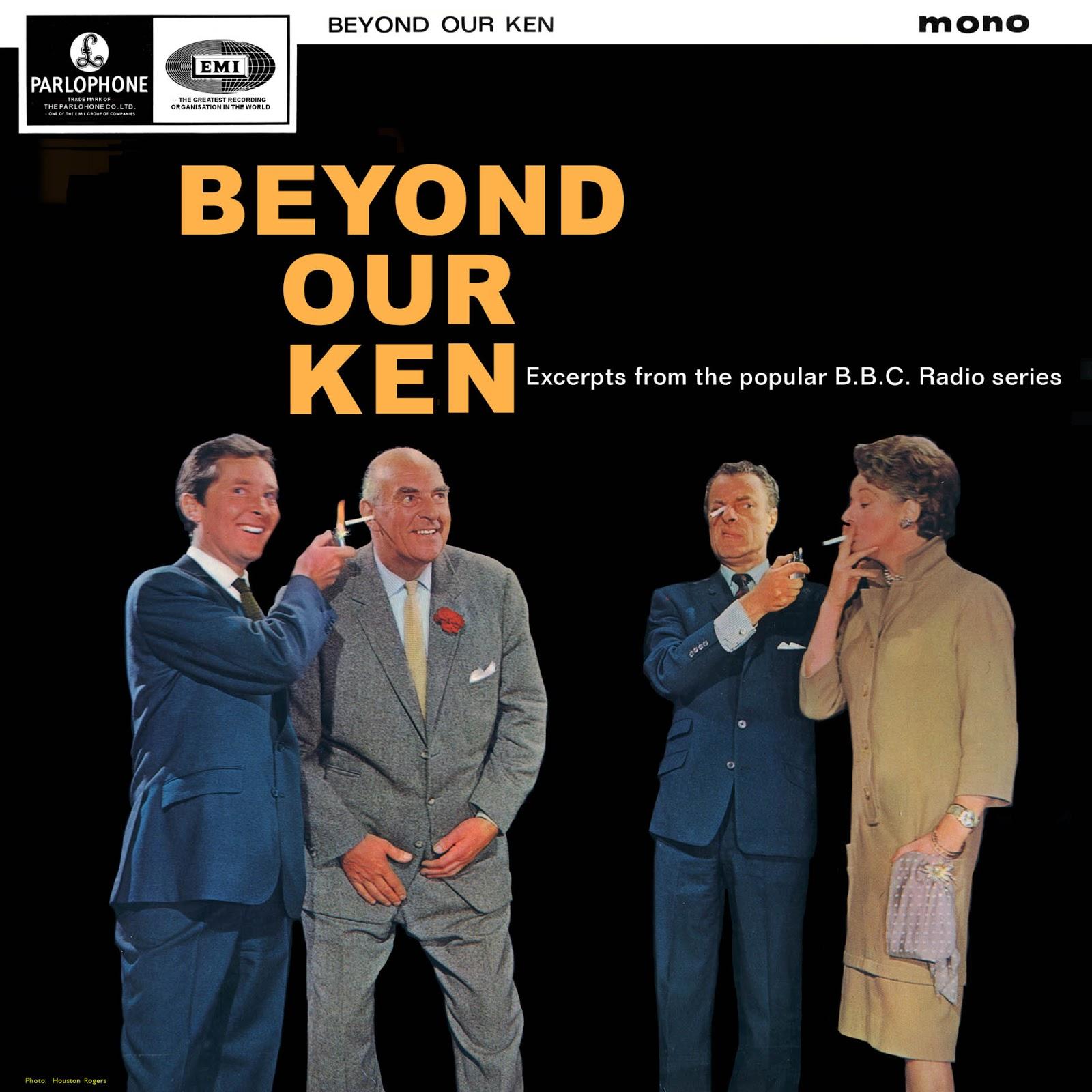 Vintage Stand Up Comedy Various Artists Beyond Our Ken 1964 Uk Barton Python Mono Skit