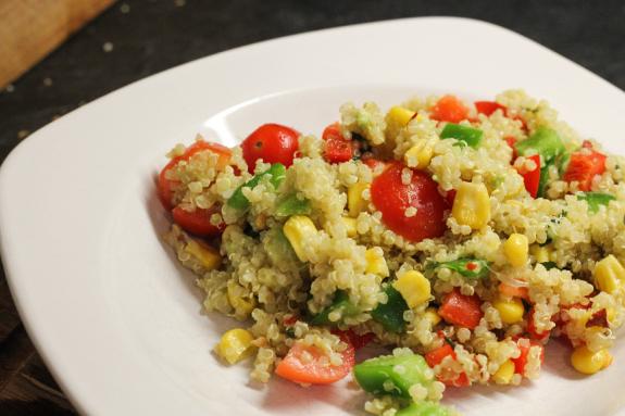 classic noise: Food Friday: Quinoa Salad a la Mexicana