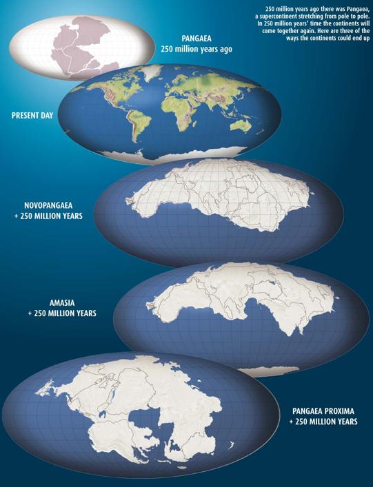 supercontinent pangea